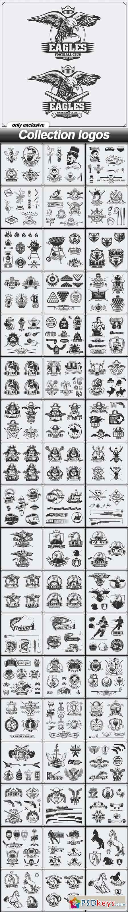 Collection logos - 100 EPS