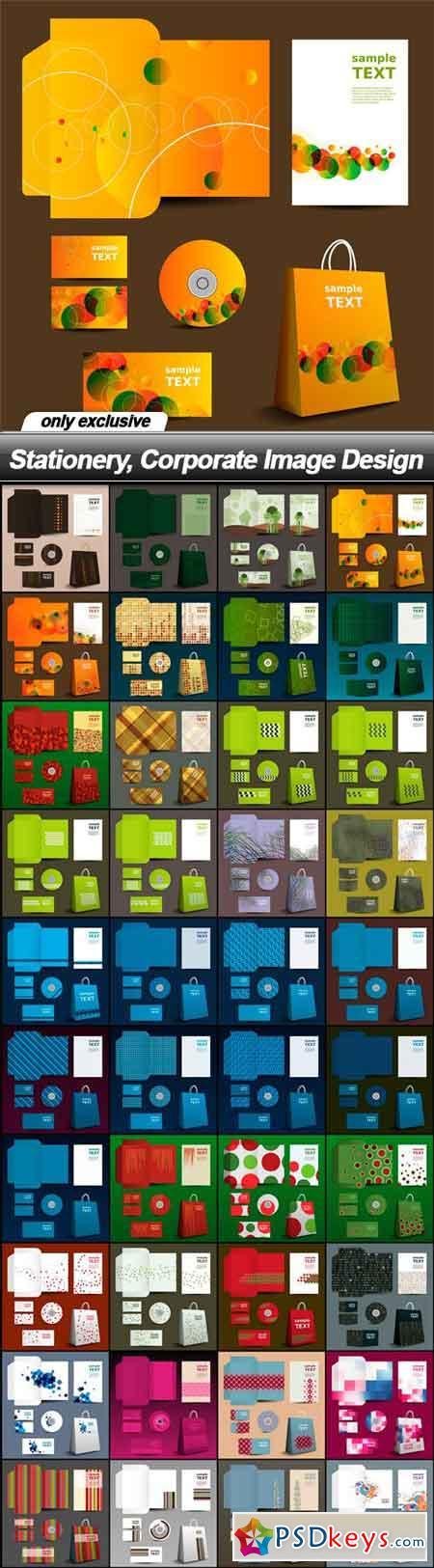 Stationery, Corporate Image Design - 40 EPS