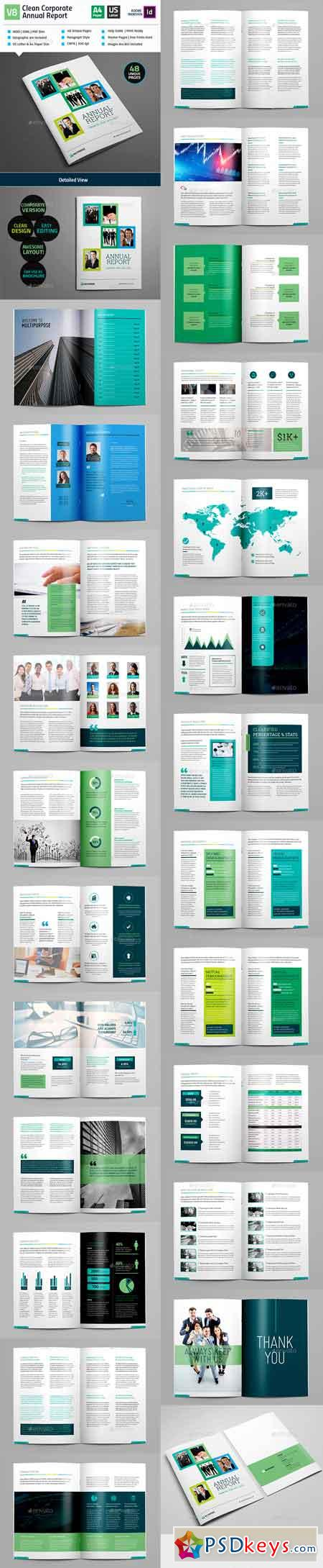 Clean Annual Report Brochure_Indesign Layout_V8 16213929