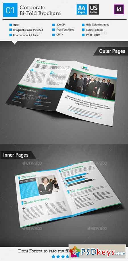 Corporate Bi-Fold Brochure 01 9094715