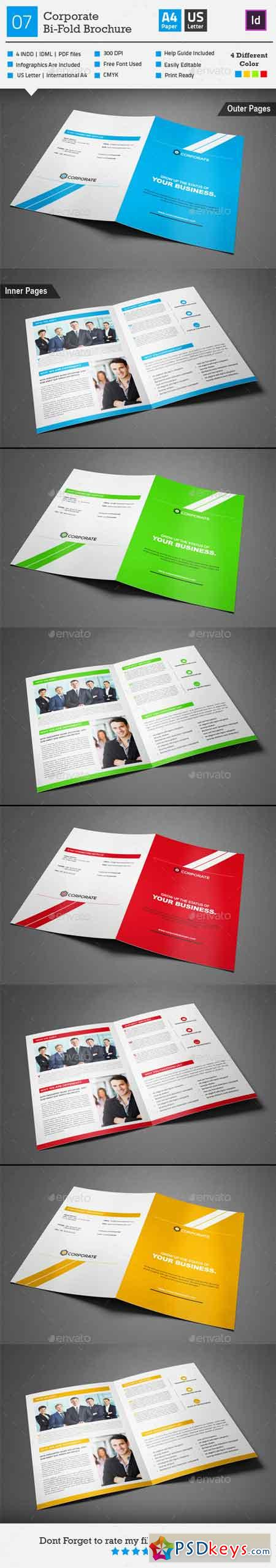Corporate Bi-fold Brochure 07 9719389