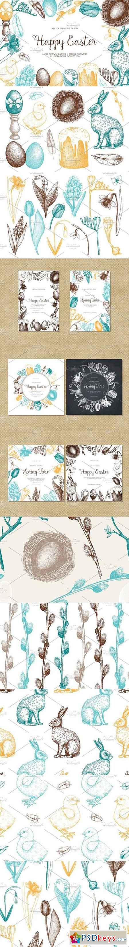 Happy Easter Day Collection 1278861