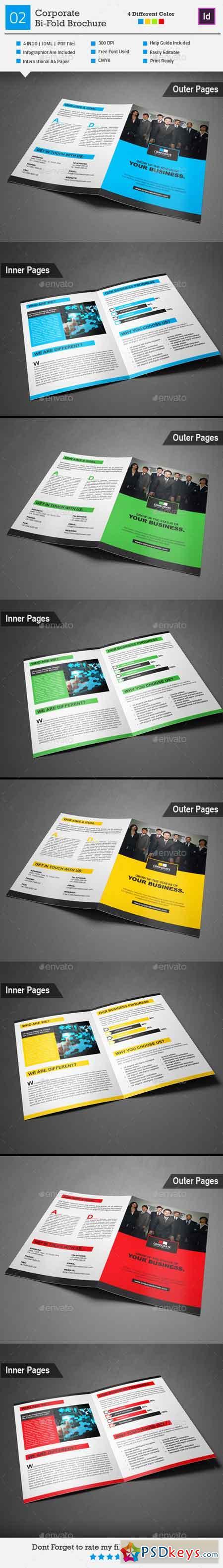 Corporate Bi-Fold Brochure 02 9126782