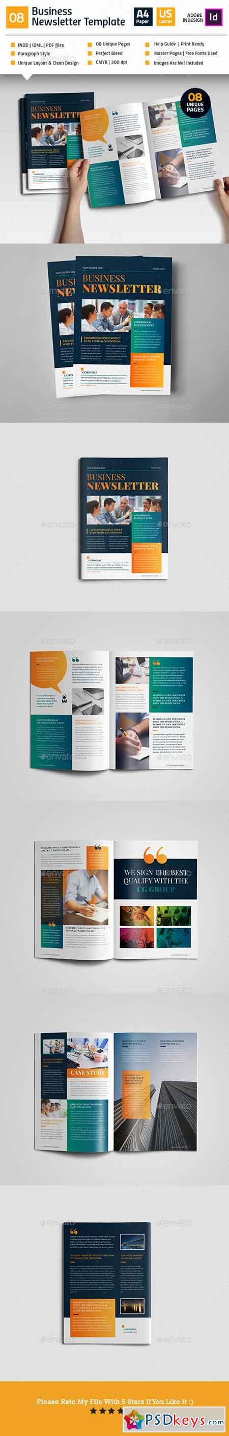 Clean Business Newsletter V08 19174814