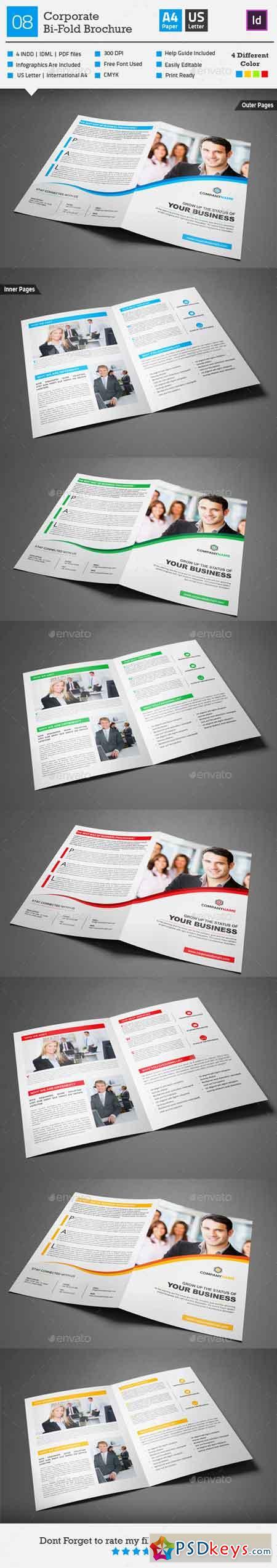 Corporate Bi-fold Brochure 08 10234656