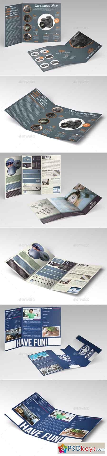 Trifold Brochures Bundle 2 1392525