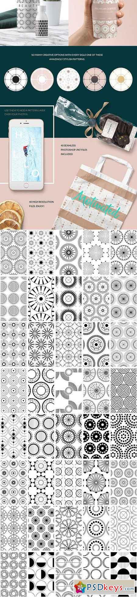 Circular Patterns Set 1275818