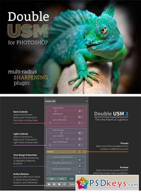 DoubleUSM 2 for Photoshop 1299187