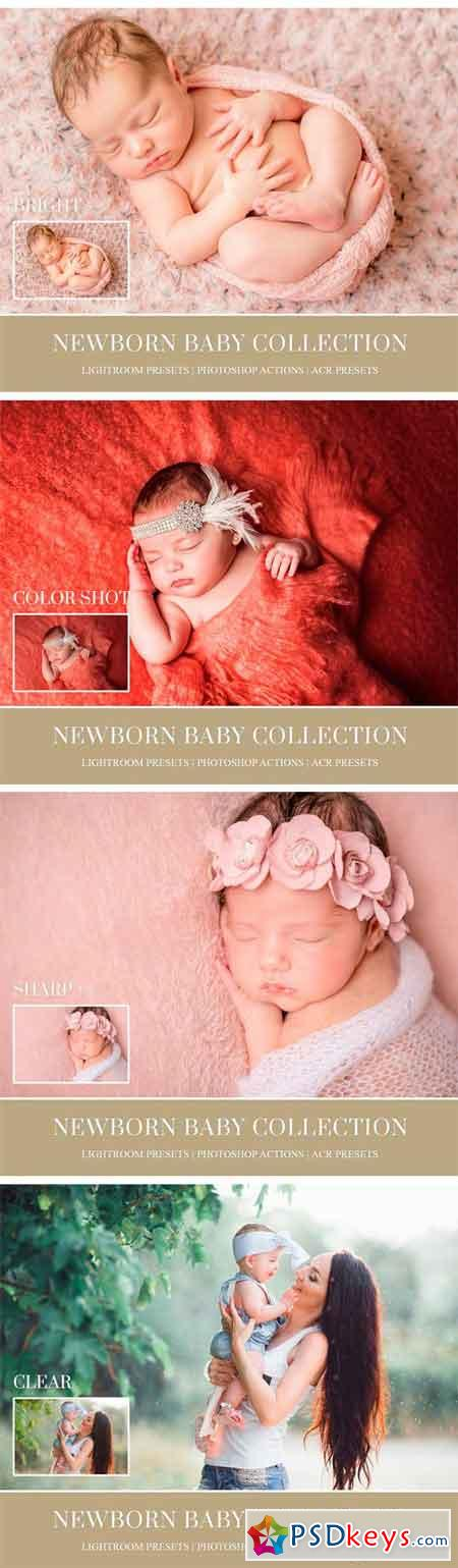 Newborn Lightroom Preset and Brushes 1297824