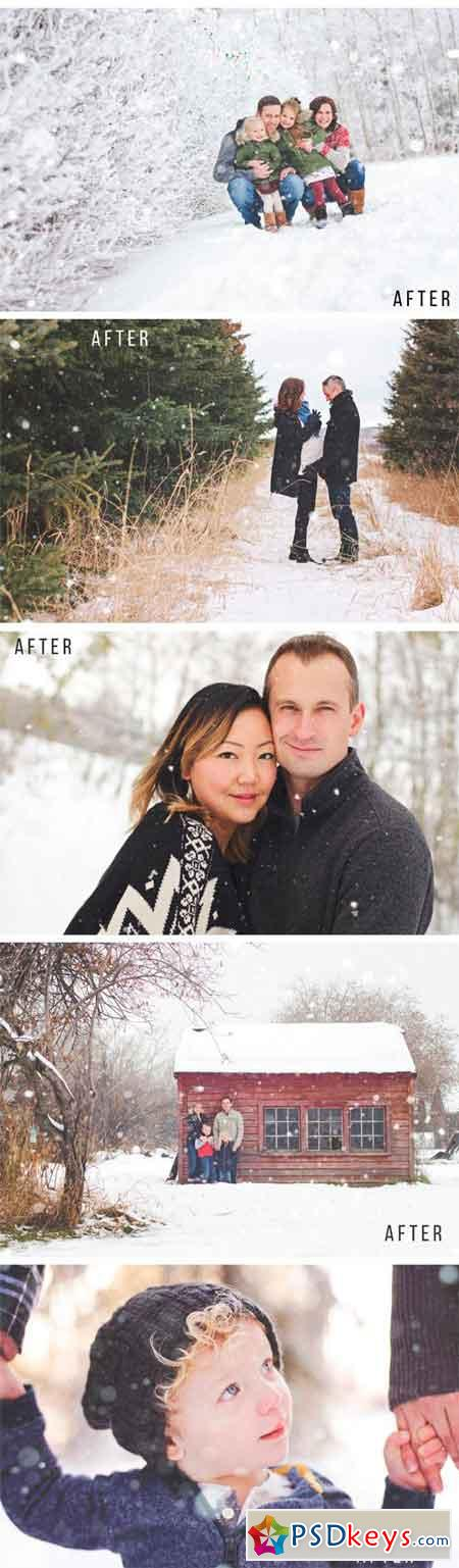 Let It Snow Photography Overlays  1292681