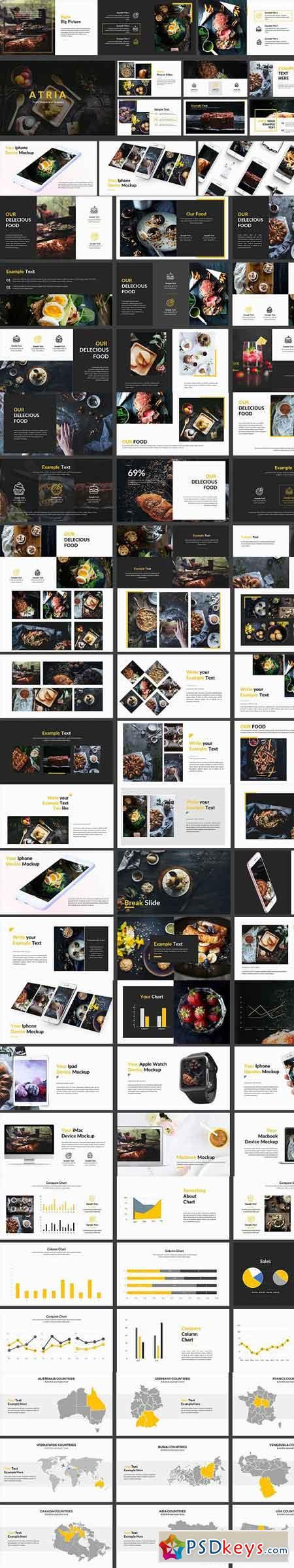 Food Powerpoint Template 1252962