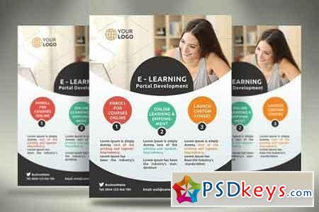 E-Learning Flyer 1110943