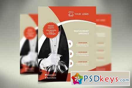 Restaurant Flyer 1136121