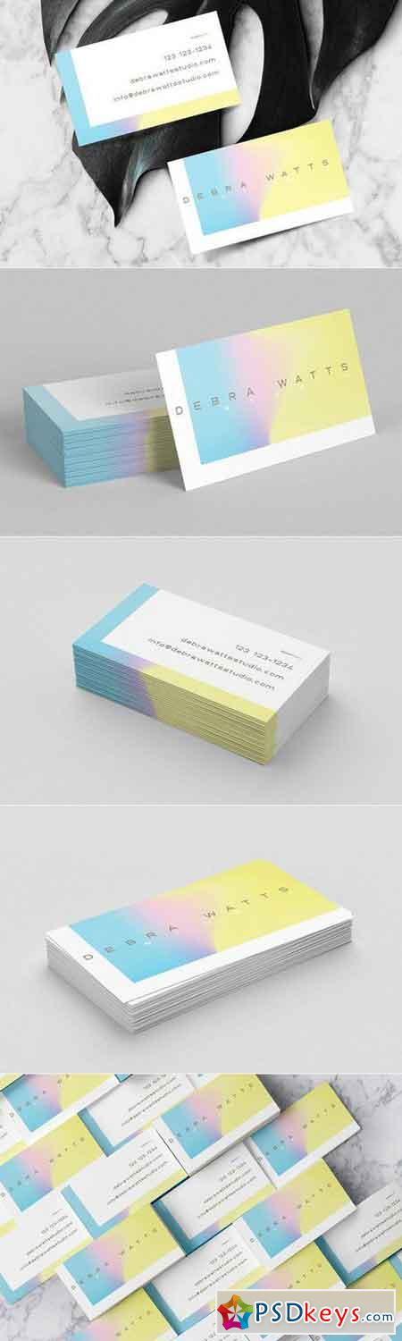 Feminine holographic business card 1226631 free download for Feminine business cards