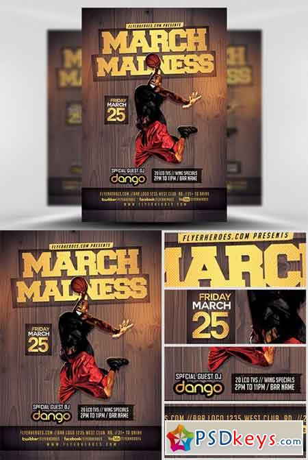 Basketball Flyer Template  BesikEightyCo