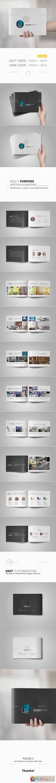 Portfolio Brochure Template 11083858