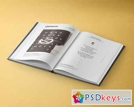 Dust Jacket Book Mockup Vol 3