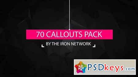 70 Call-Outs Pack 19518246 - After Effects Projects