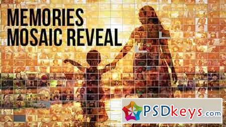 Mosaic Photo Reveal - Memories 19348626 - After Effects Projects