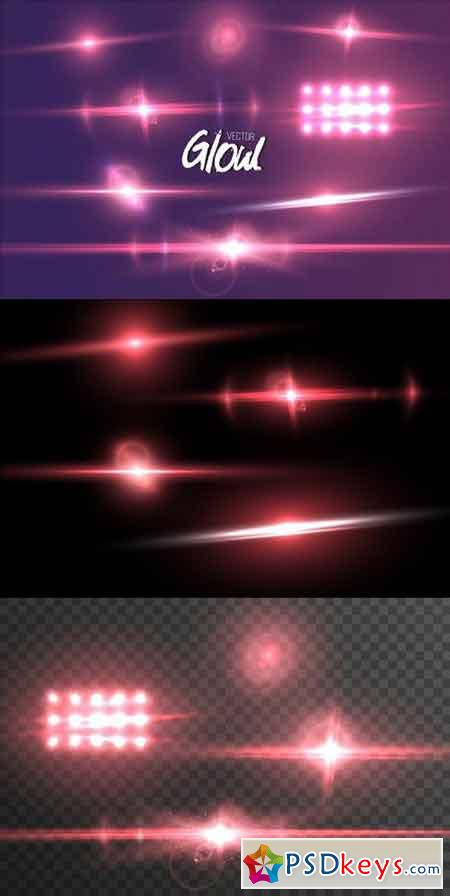 Vector Lens Flare Glow Effect 1237389