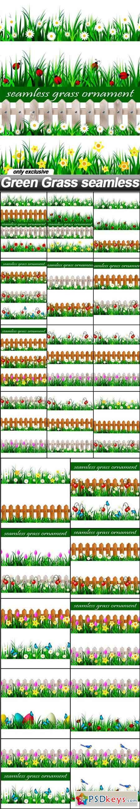 Green Grass seamless - 22 EPS
