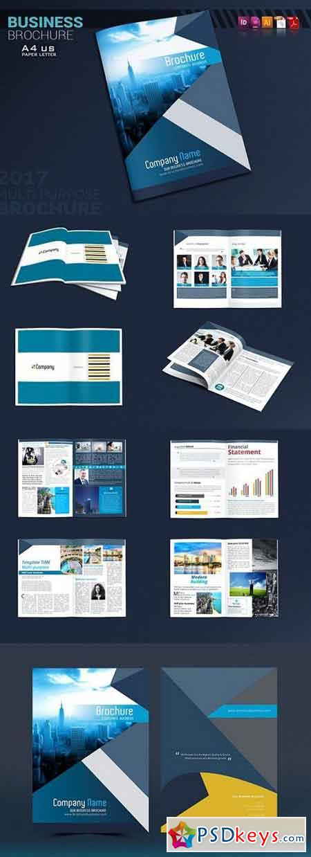8 5 x 11 brochure template indesign - brochure indesign template 1300647 free download