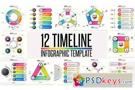 12 Timeline & Infographic Template 4 1277292
