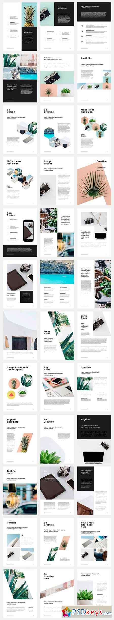 A4 Vertical Keynote +30 Free Photos 1295422