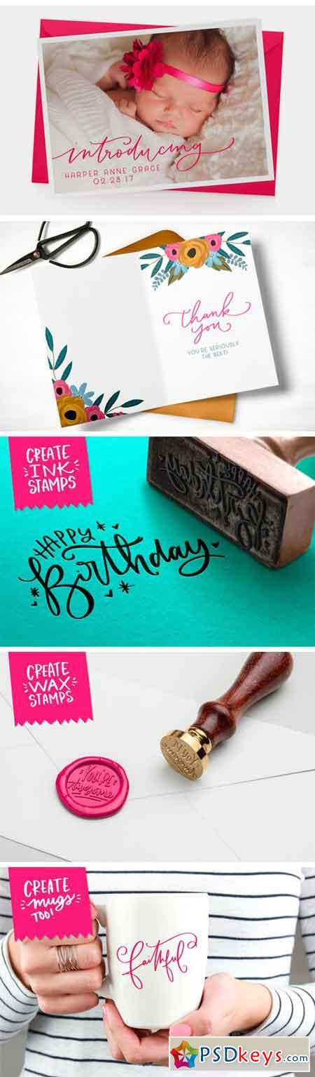 The Greeting Card & Catchword Kit 1292145