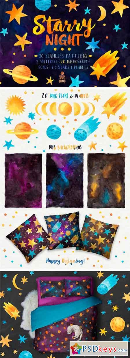 Starry Night, Pattern Pack 1269597