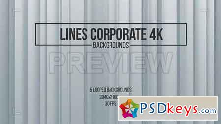 Lines Corporate Backgrounds - After Effects Projects