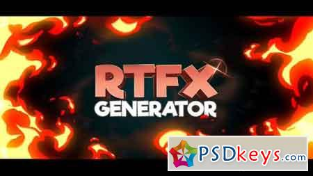 RTFX Generator + 440 FX pack 19563523 - After Effects Projects