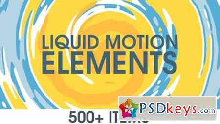 Liquid Motion Elements 15789530 - After Effects Projects