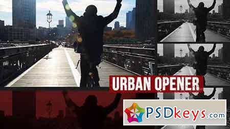 Dynamic Urban Opener 17171212 - After Effects Projects
