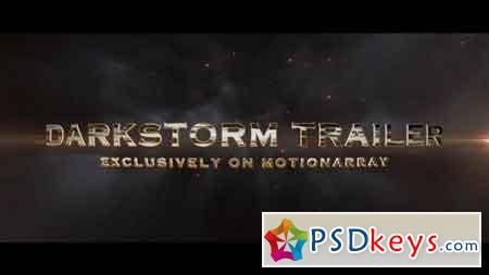 Darkstorm Trailer - After Effects Projects