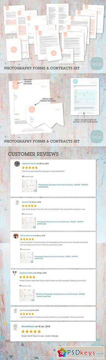 Ng Photography Contracts  Forms   Free Download