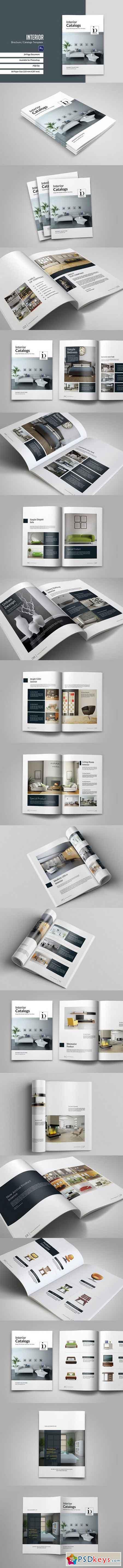 Simple Brochure Catalogs 1320488