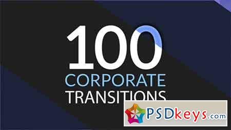 100 Corporate Transitions 18668678 - After Effects Projects