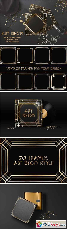 Art Deco Frames 1290776