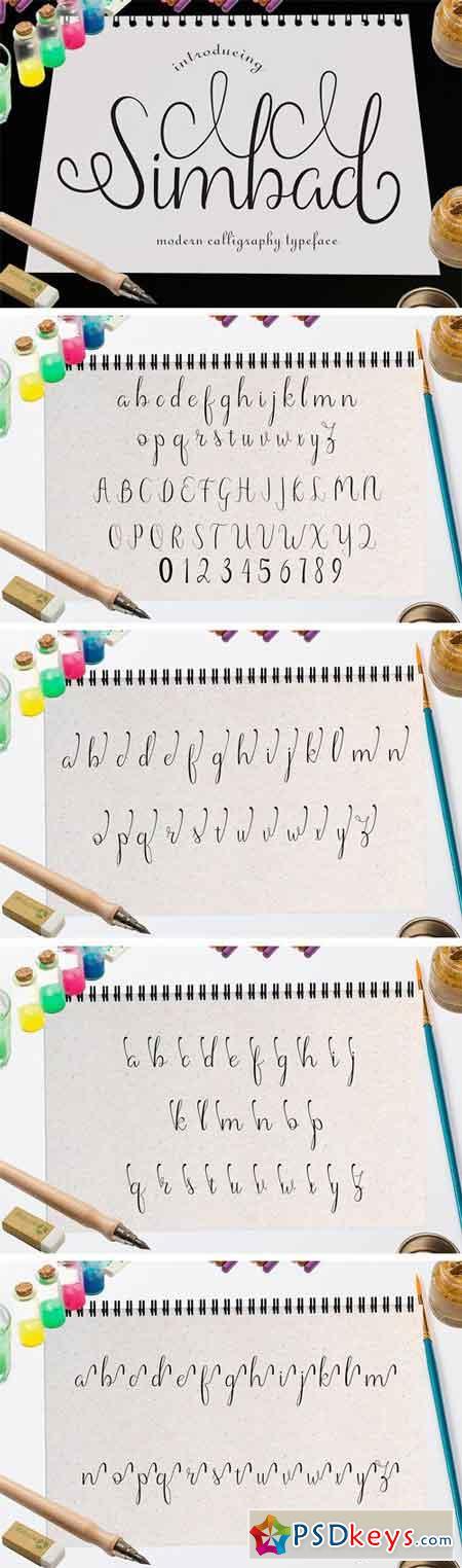 Simbad Modern Calligraphy 1319477