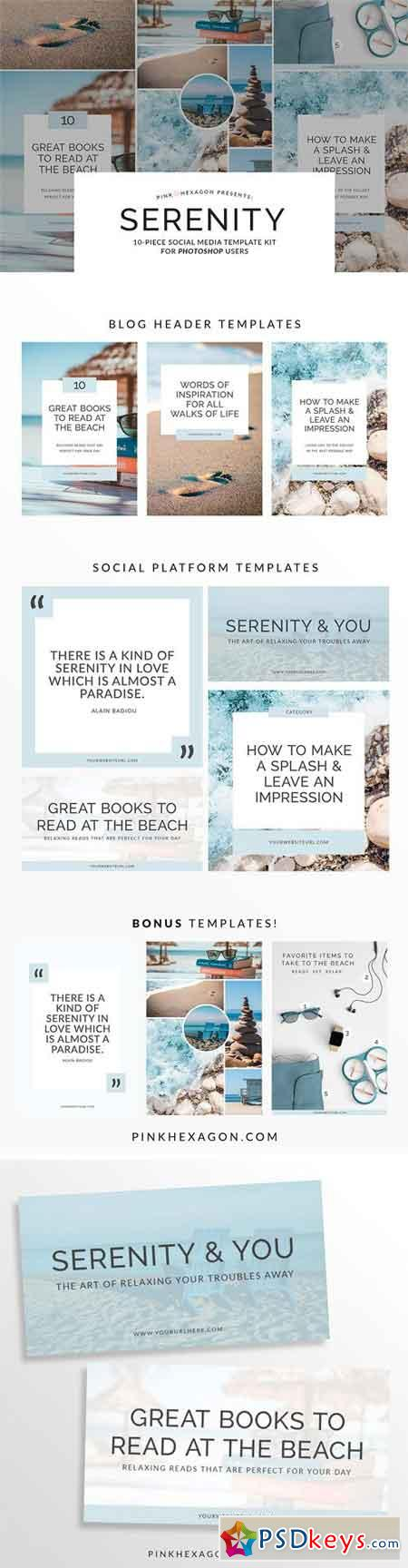 Serenity 10 Piece Social Media Temp 1296957