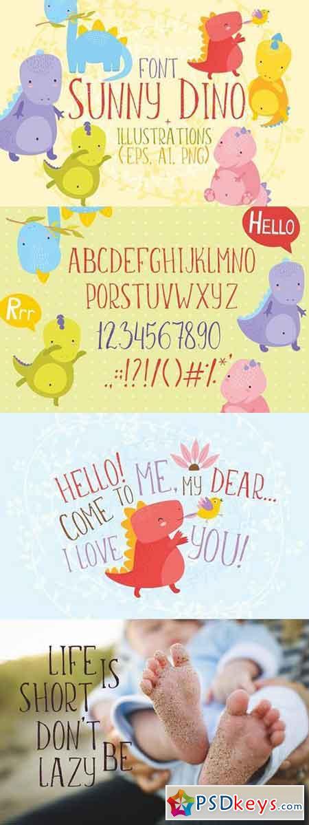 Sunny Dino Font 1312263
