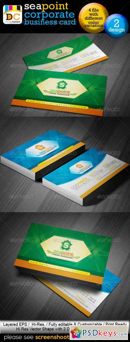 SeaPoint_Corporate Creative Business Cards 4577550