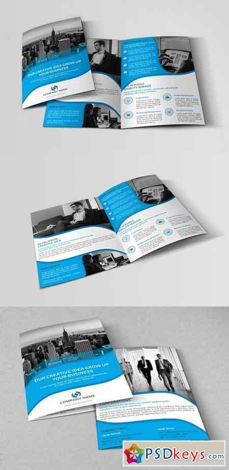 Corporate Bi-fold Brochure 748699