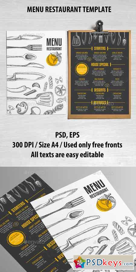 Cafe and Restaurant Template 14340087