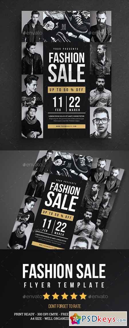 Fashion Sale Flyer 17071640