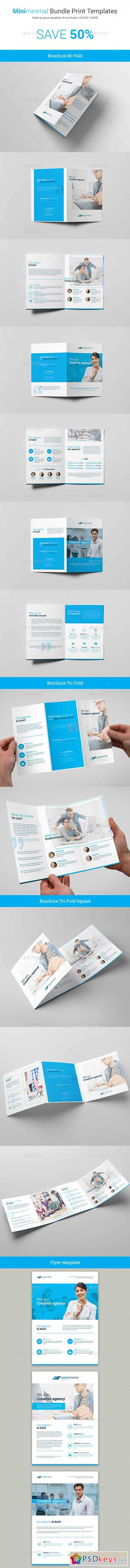 Miniminimal – Business Bundle Print Templates 19165497