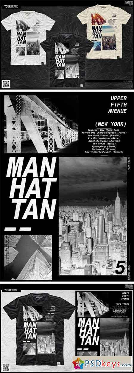 New York City T-Shirt Print 1276284