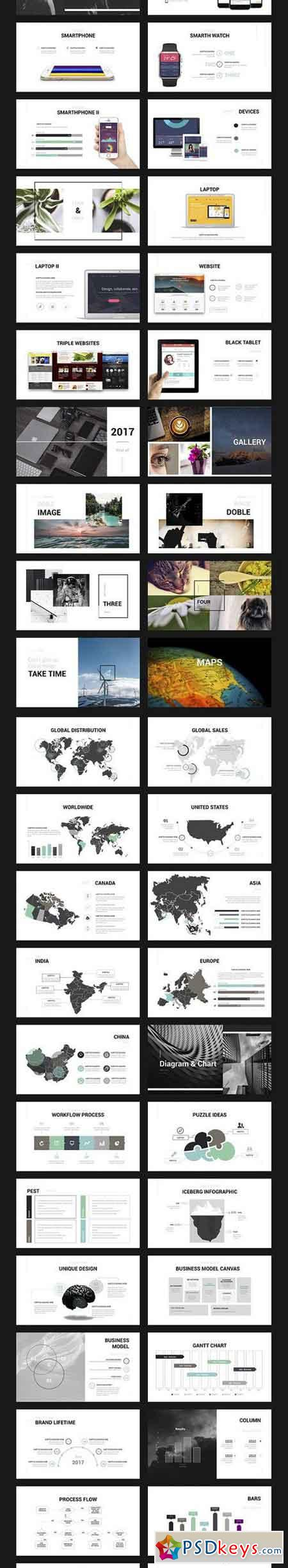 Century Powerpoint Template 1302477