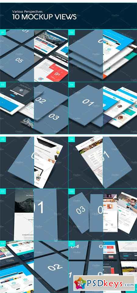 The Perspective Website Mockup 1237145